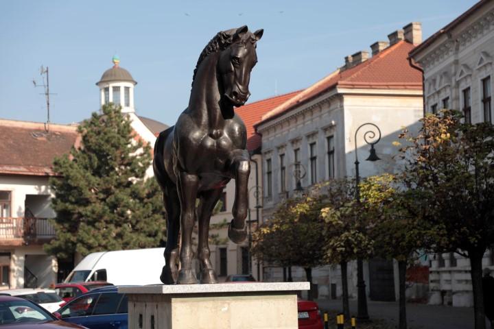 Socha koňa nazvaného CASSO