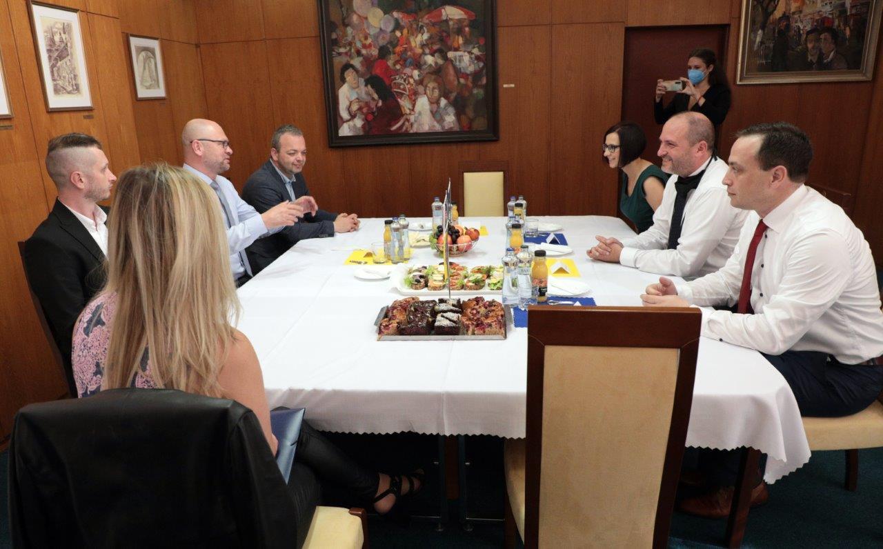 Stretnutie s ministrom hospodárstva Richardom Sulíkom