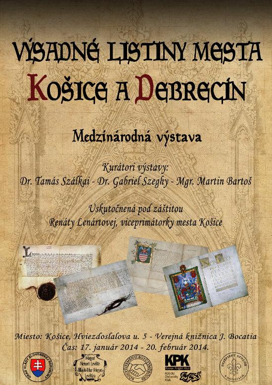 Výsadné listiny mesta Košice a Debrecín