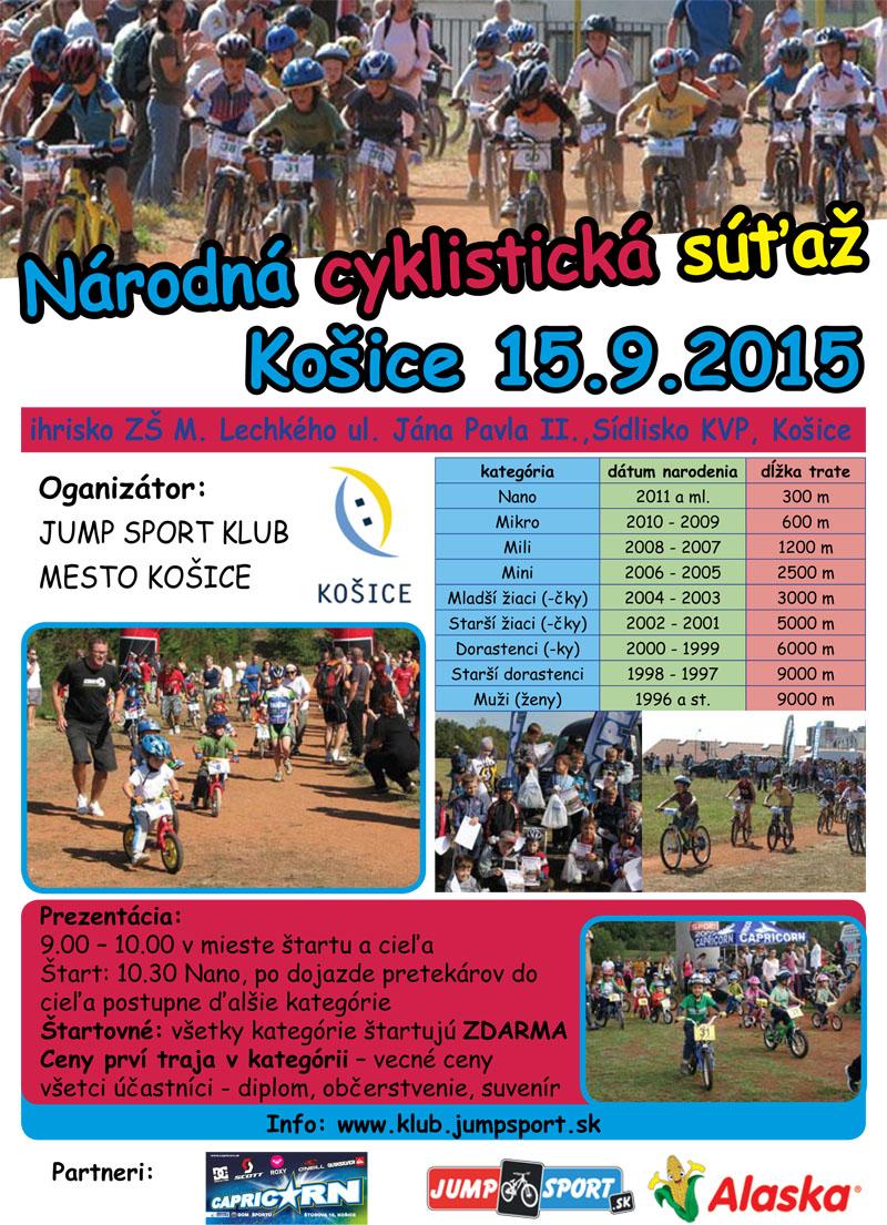 Národná cyklistická súťaž 2015