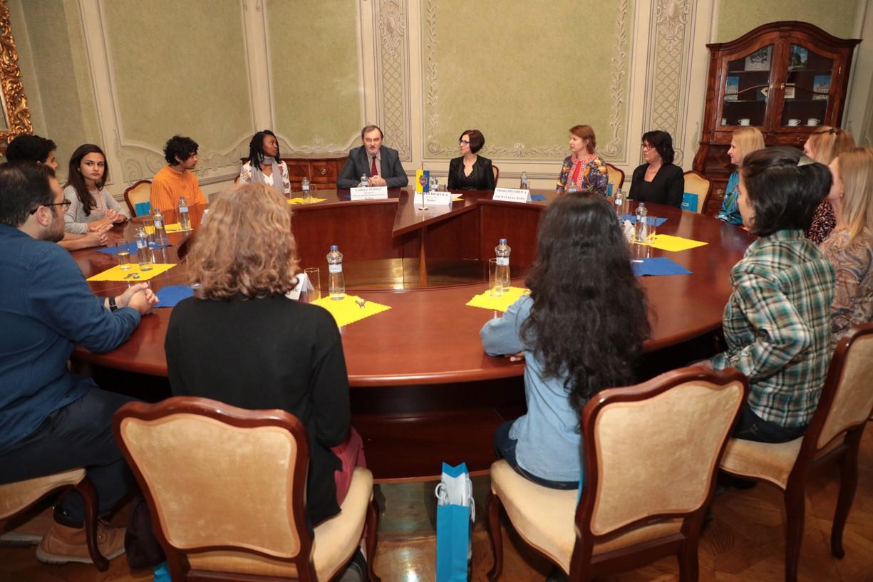 Študenti United World College of the Adriatic v Taliansku sa stretli s viceprimátorkou mesta Košice