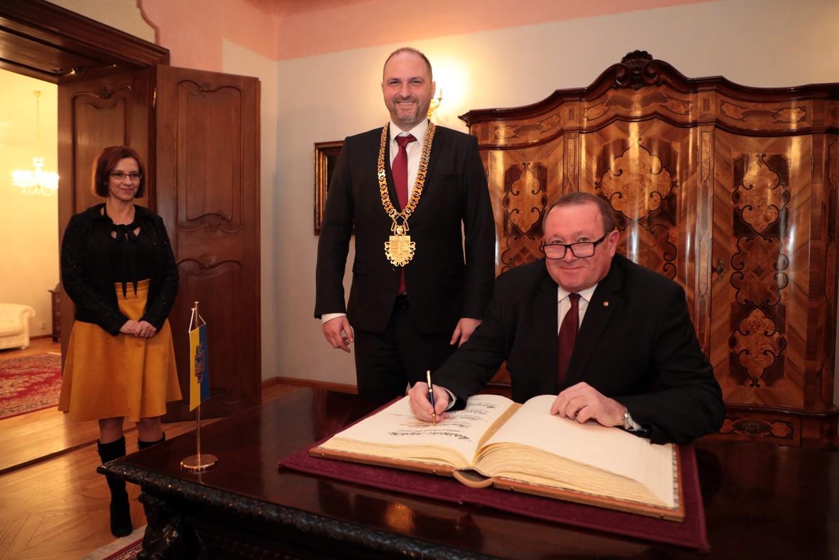 Prijatie rektorov košických univerzít