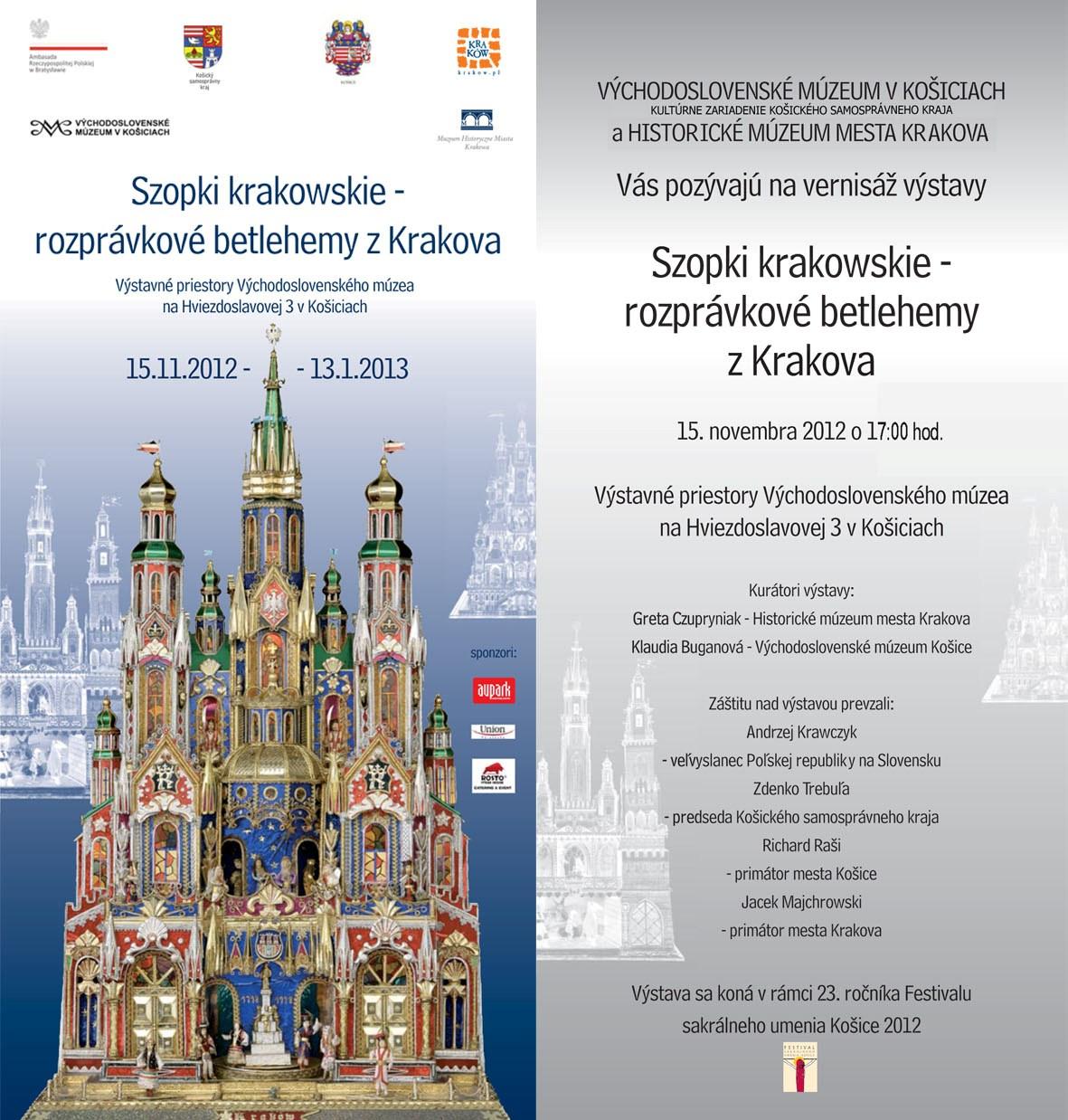 Szopki krakowskie - rozprávkové betlehemy z Krakova