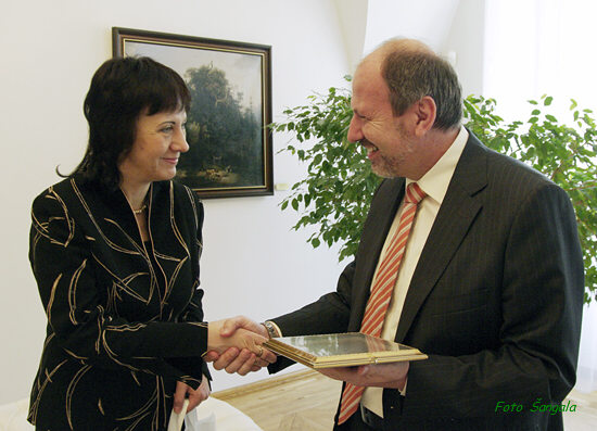 Rozlúčka s veľvyslankyňou Ukrajiny