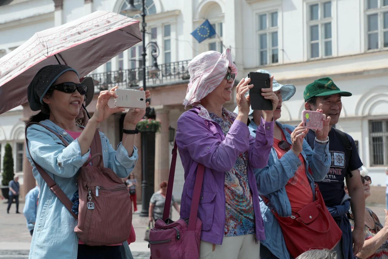 Majáles zaujal aj turistov