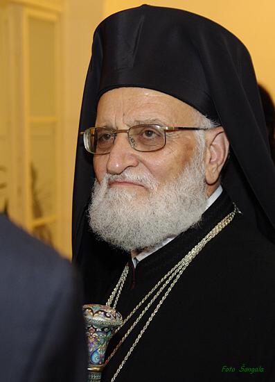 Jeho Blaženosť Gregor III., patriarcha Antiochie a celého Východu, Alexandrie a Jeruzalema