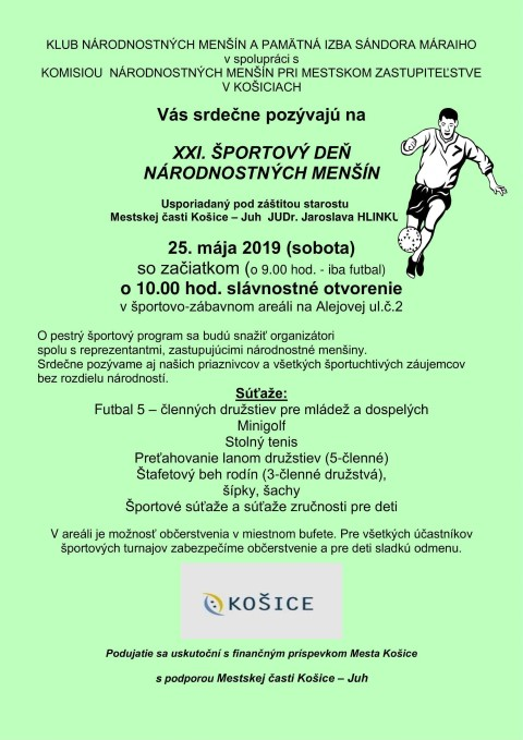 Športový deň národnostných menšín