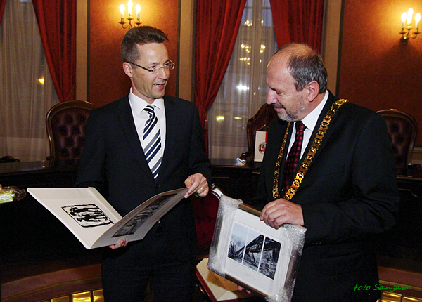 Primátor mesta a rektor Bergskej univerzity