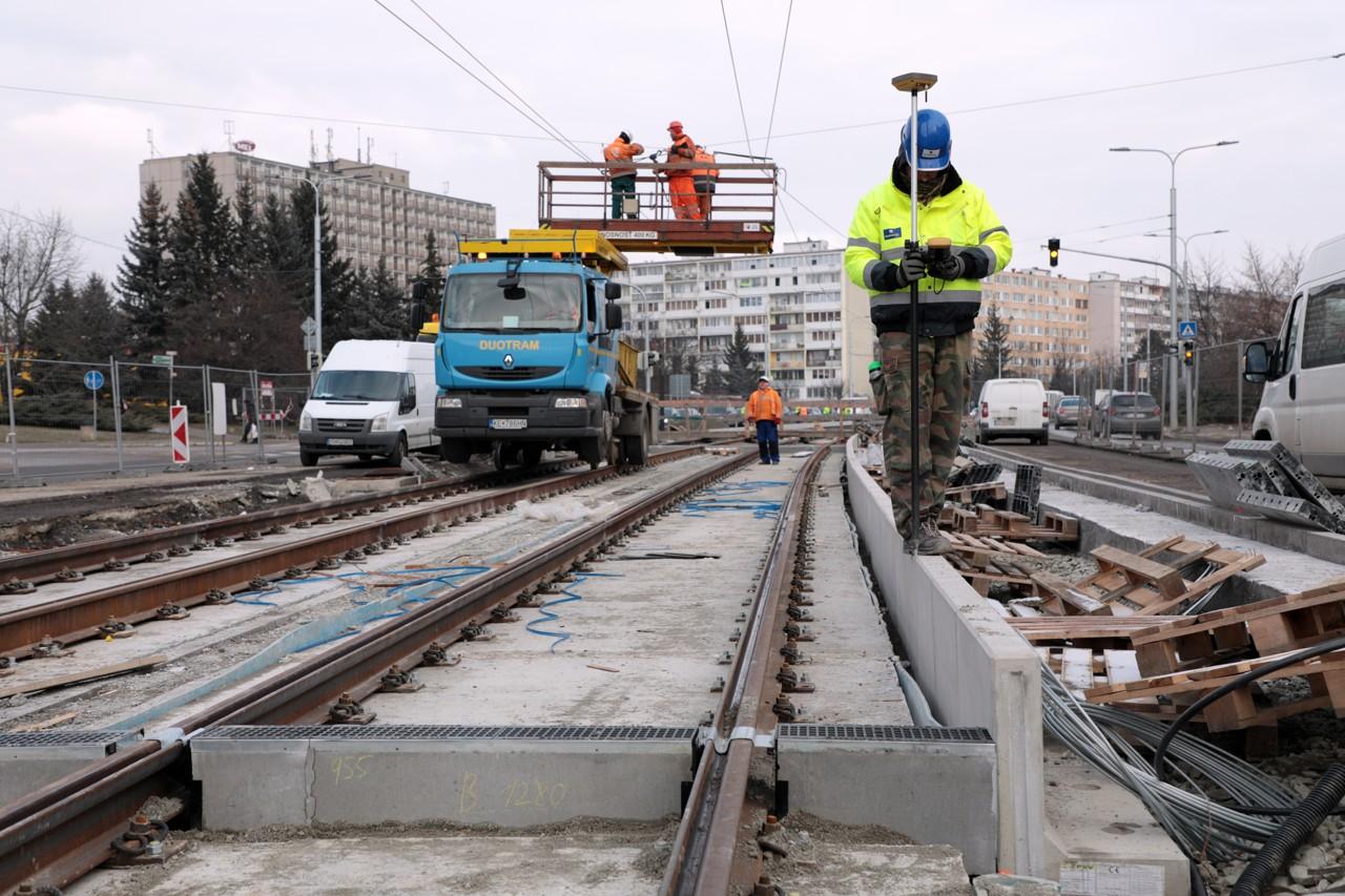 Modernizácia električkových tratí