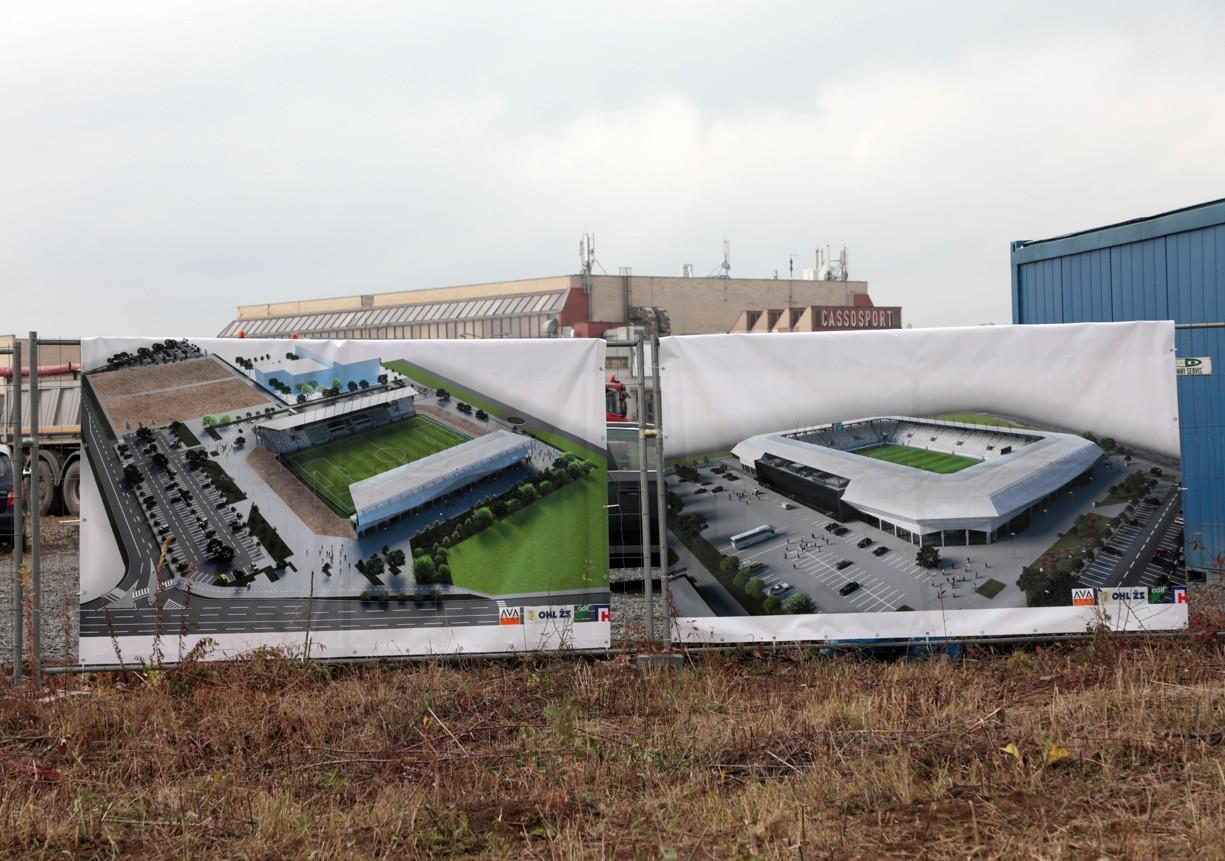 Tu vznikne Košická futbalová aréna