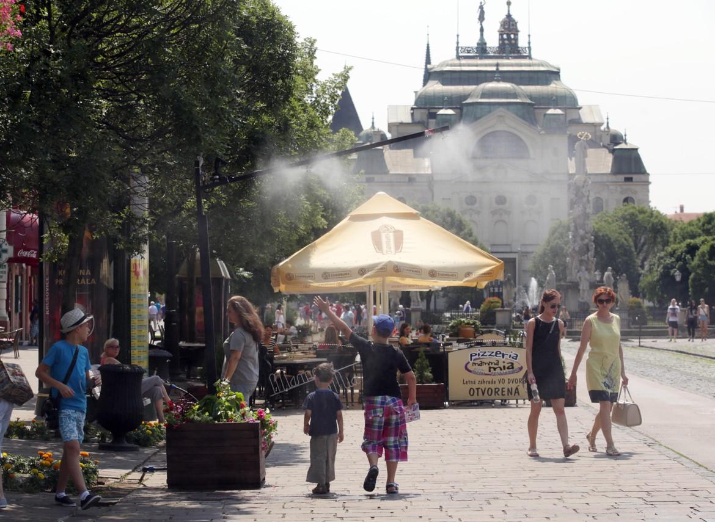 Rosiče osviežujú počas horúcich letných dní
