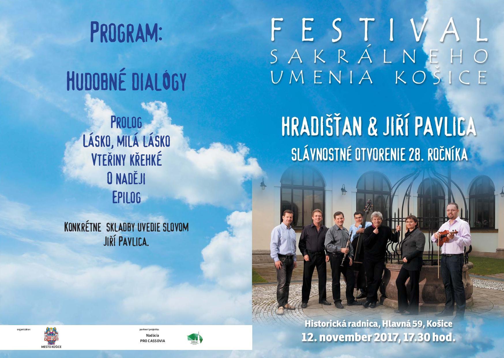Hudobné dialógy - slávnostné otvorenie 28. ročníka
