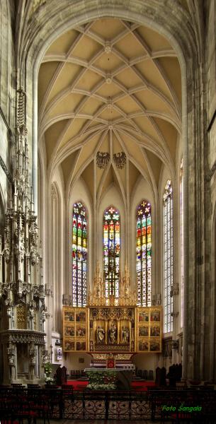 interiér Chrámu sv. Alžbety