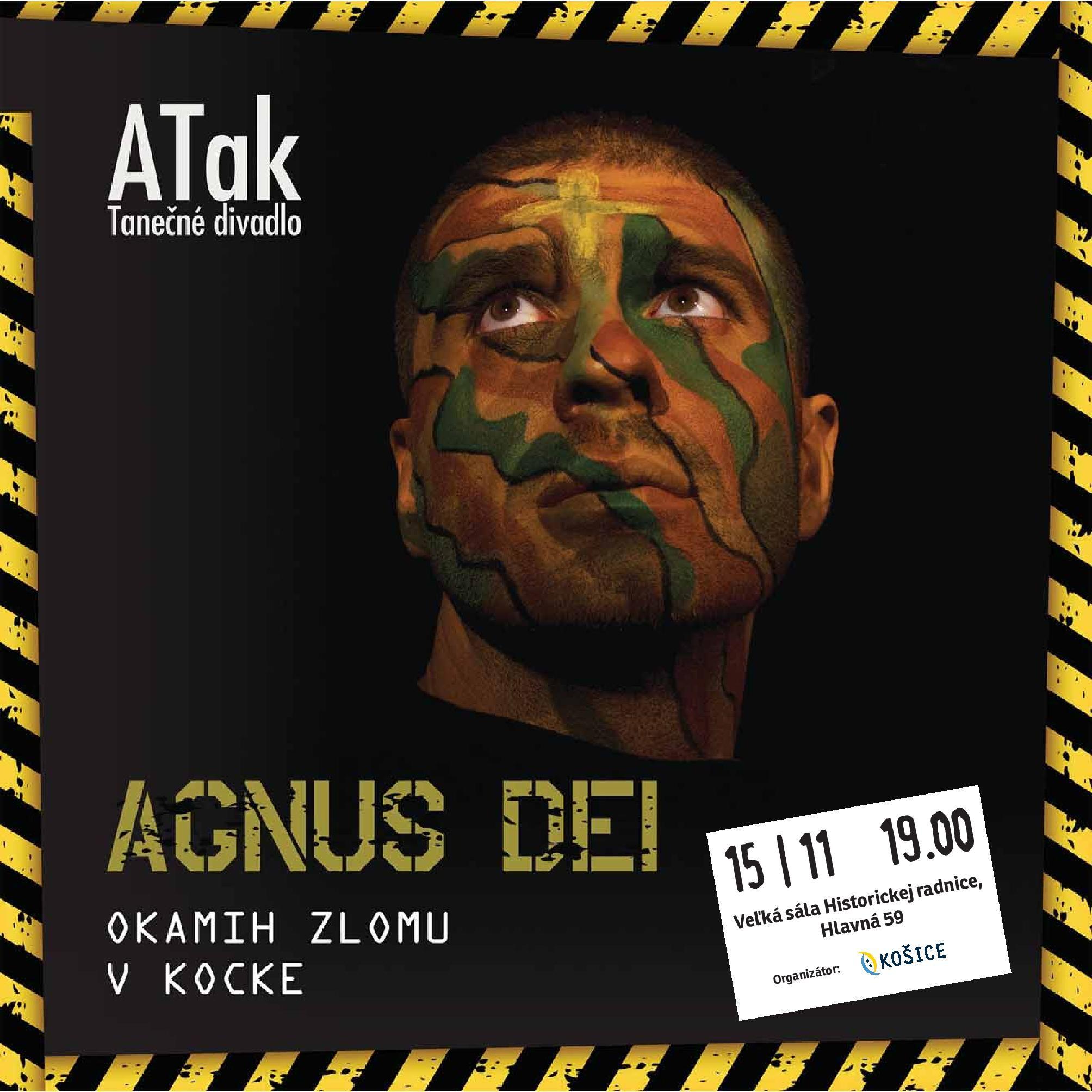 15.11.2019 AGNUS DEI - ATaK Tanečné divadlo