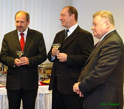 Na otvorení honorárneho konzulátu sa zúčastnil aj primátor František Knapík