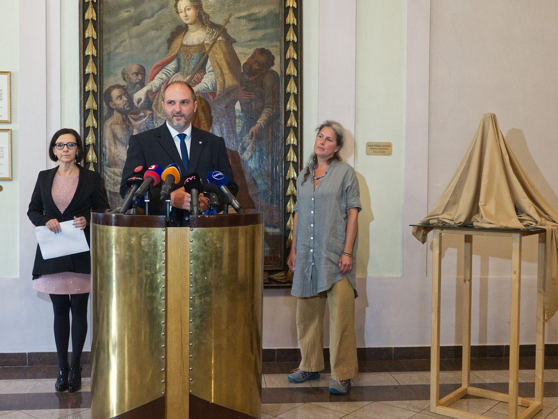 Brífing k daru pre Svätého otca pri príležitosti jeho návštevy v Košiciach