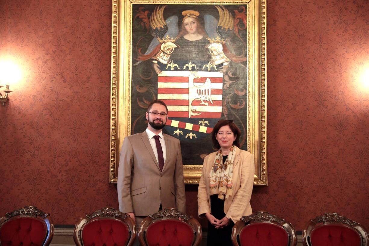Veľvyslankyňa Rakúskej republiky v SR navštívila Košice