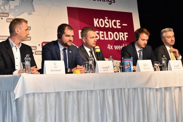 Nová letecká linka od 28. 10. 2018 Košice - Düsseldorf a späť