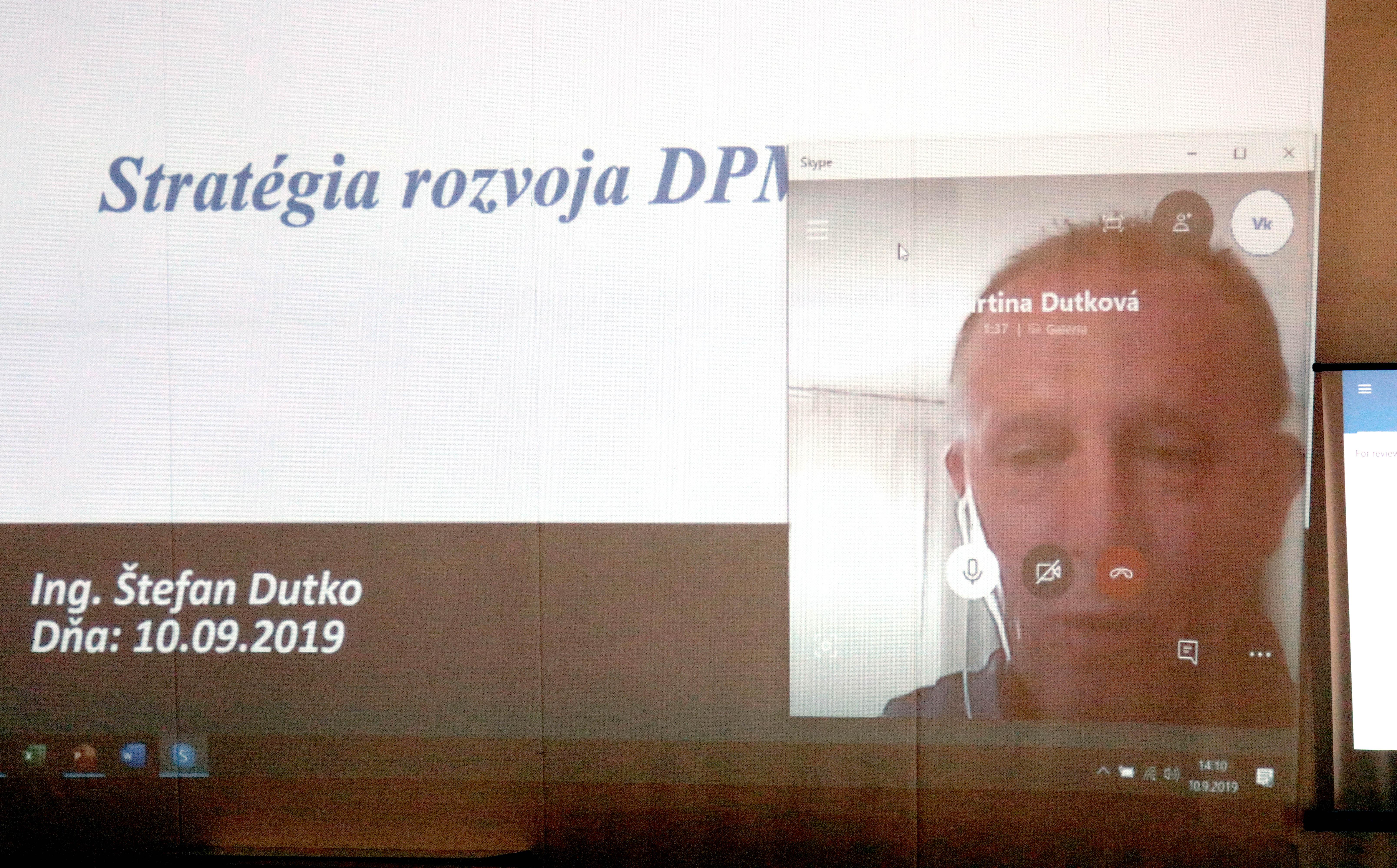 Štefan Dutko sa zúčastnil výberového konania prostredníctvom internetu