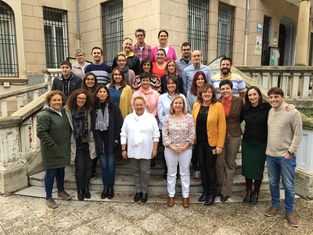 Grupo internacional de profes en España