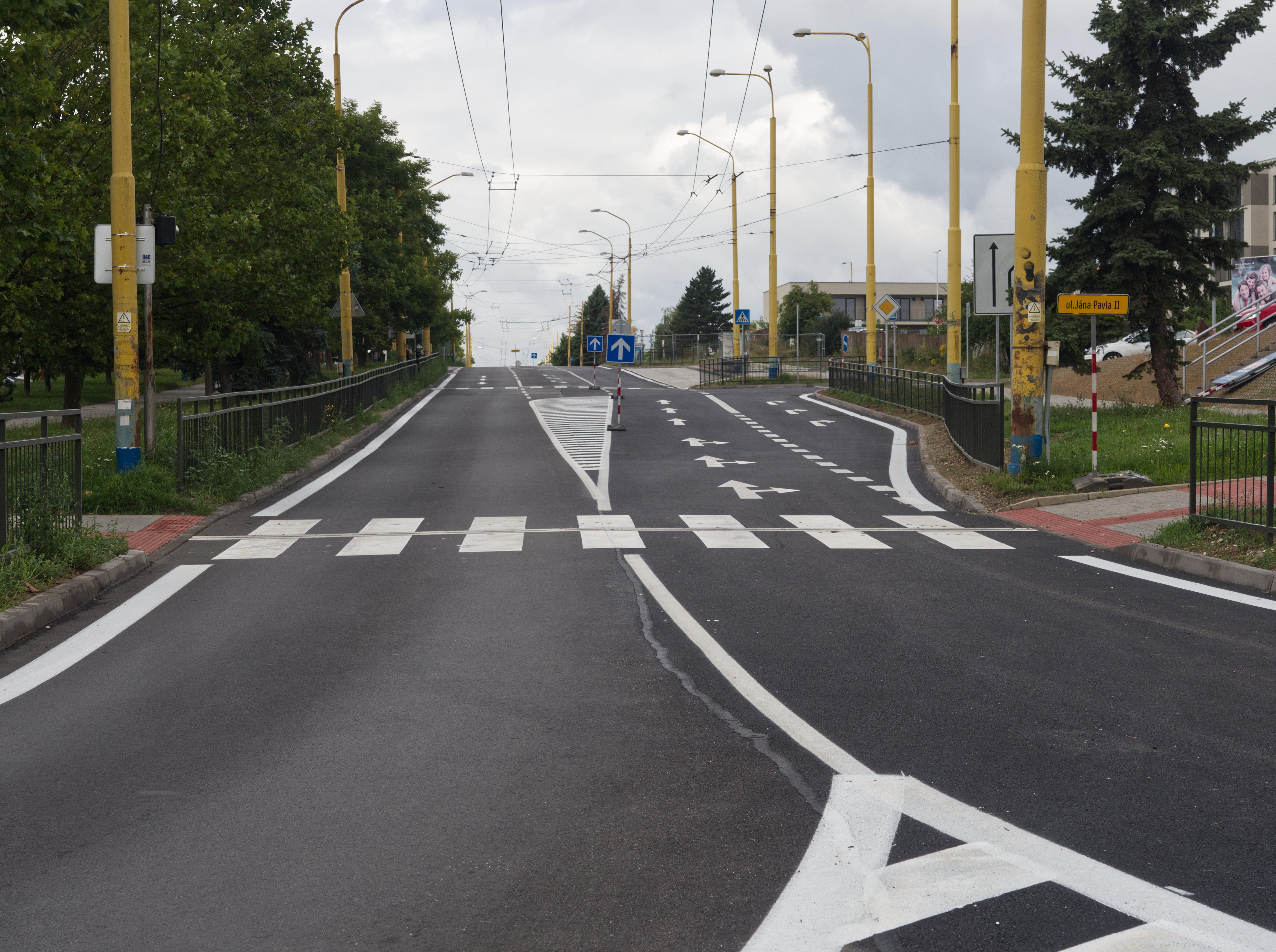 Zrekonštruovaná cesta