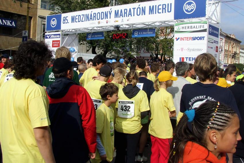 div č.3 Medzinárodný maratón mieru Košice