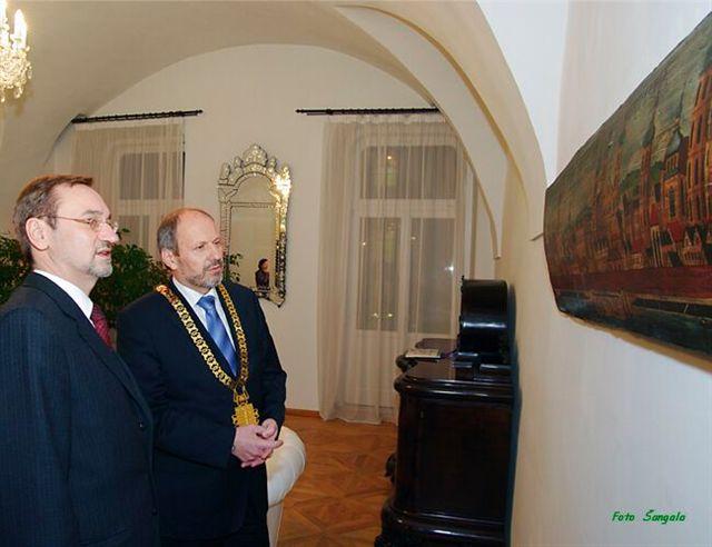 Prijatie veľvyslanca ČR