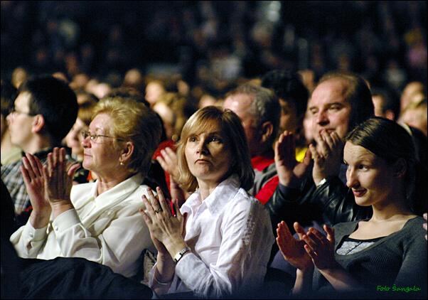 Nadšené publikum