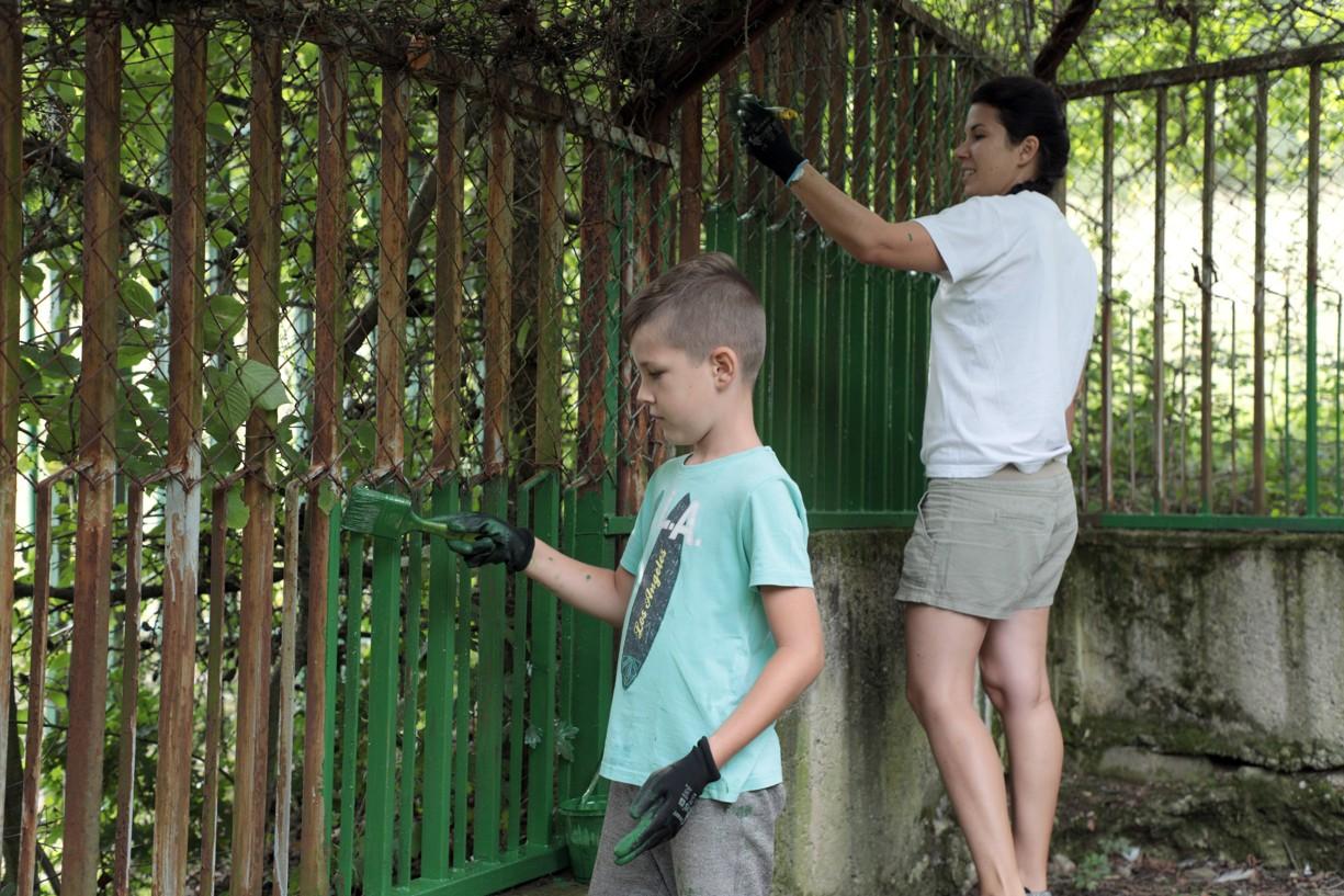 Mestskí dobrovoľníci v košickej ZOO