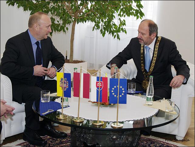 Návšteva veľvyslanca Lotyšskej republiky v Košiciach