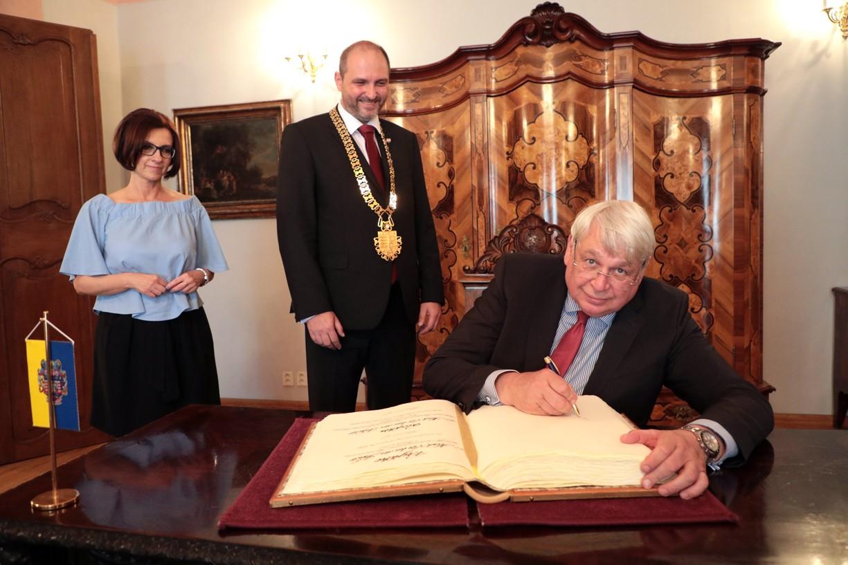 Košice navštívil veľvyslanec Holandského kráľovstva v SR