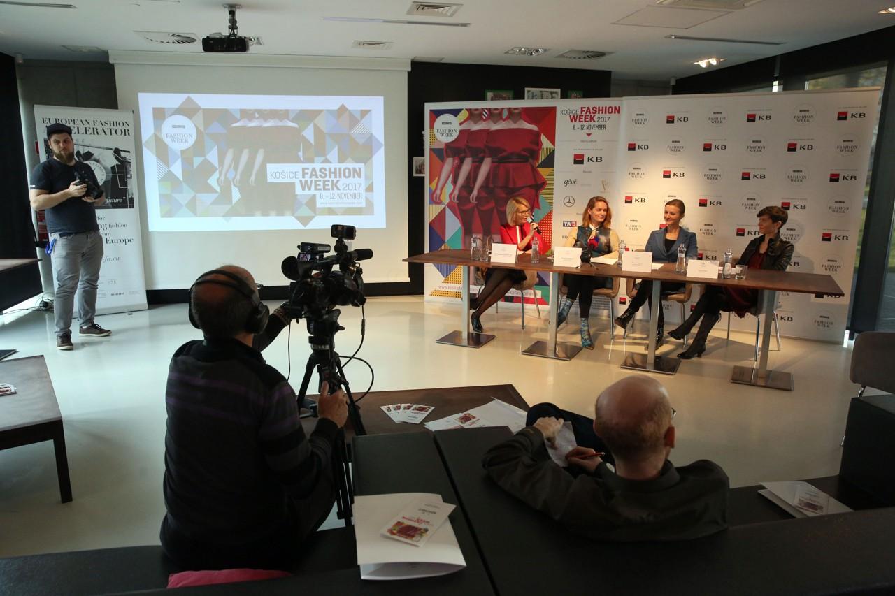 Tlačová konferencia Košice Fashion Week 2017
