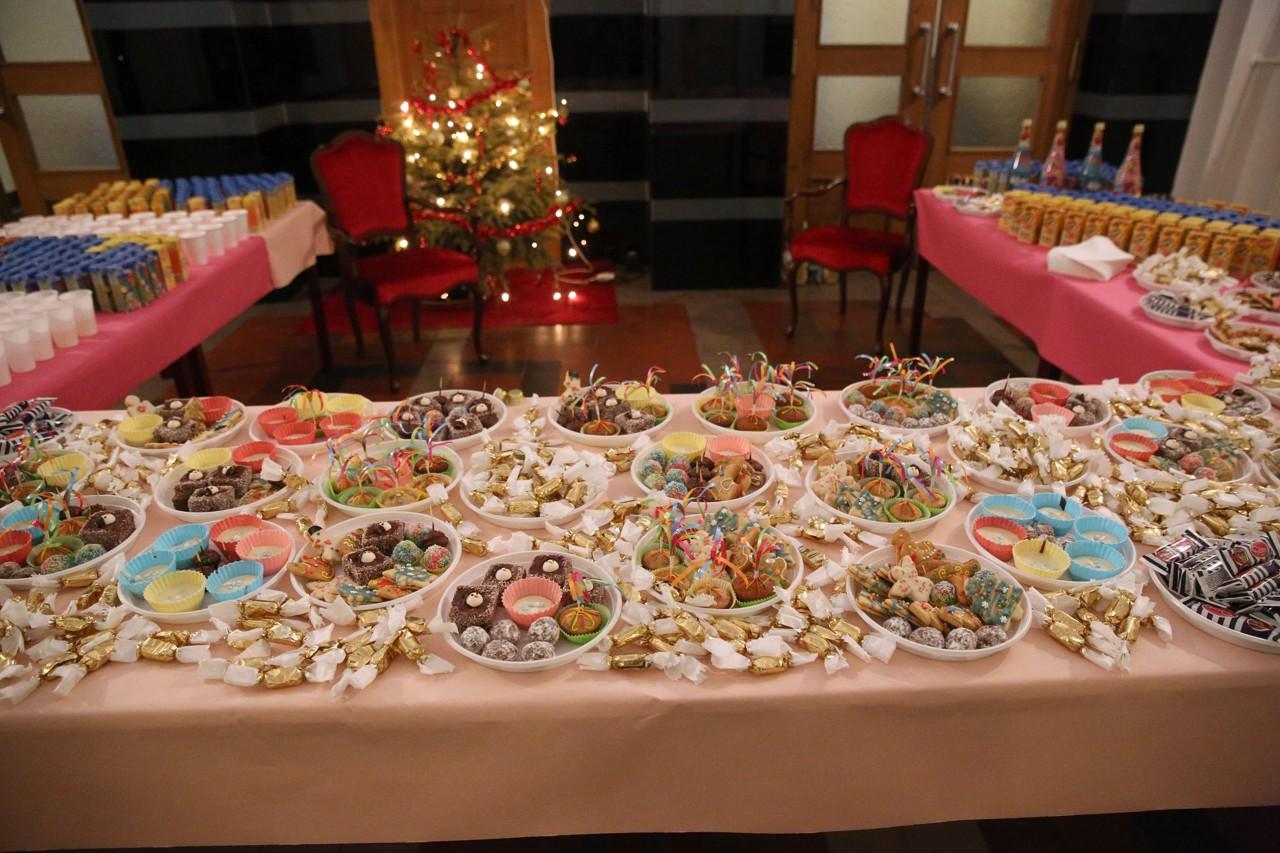 Silvestrovská hostina pre najmenších