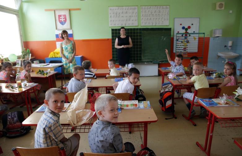 Prvý školský deň na ZŠ Požiarnicka