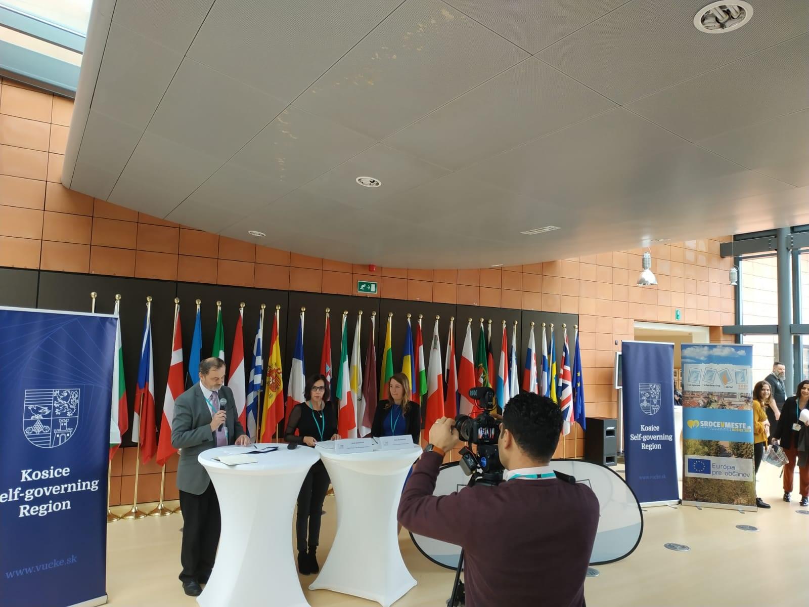 Košičania predstavujú svoje dobrovoľnícke aktivity v Bruseli