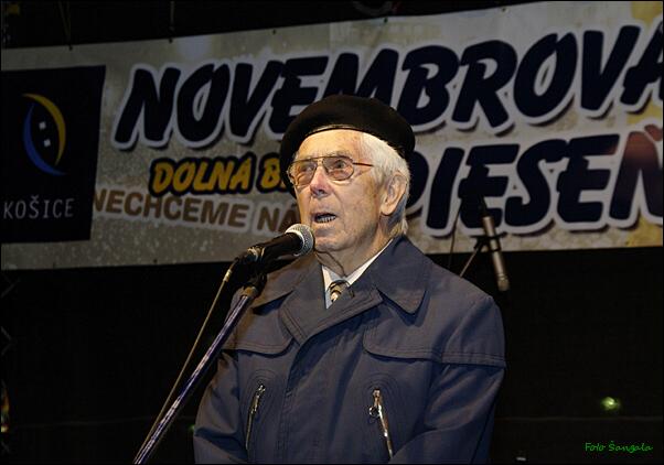 Predseda OV Konfederácie politických väzňov JUDr. V.Samuely