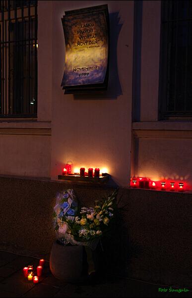 Pamätník November 1989 v Košiciach