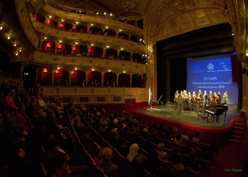interiér Štátneho divadla