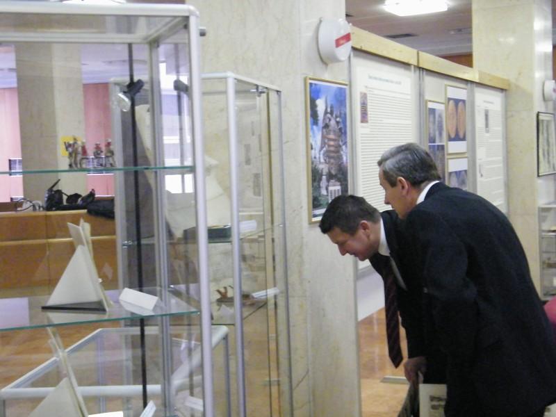 Návštevníci výstavy – členovia MZ Košice