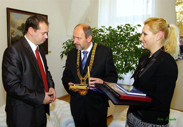 Prijatie primátora mesta Niš