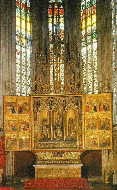 Hlavný oltár sv. Alžbety Durínskej
