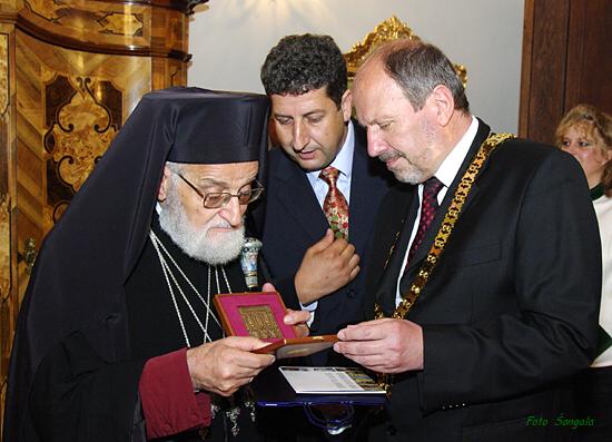 patriarcha Gregor III. si odniesol malú pamiatku na návštevu Košíc