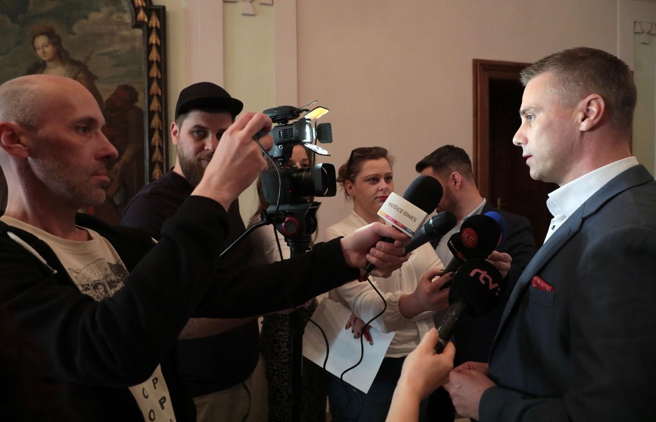 Viceprimátor mesta Košice Martin Petruško pozval prostredníctvo médií na oslavy všetkých Košičanov