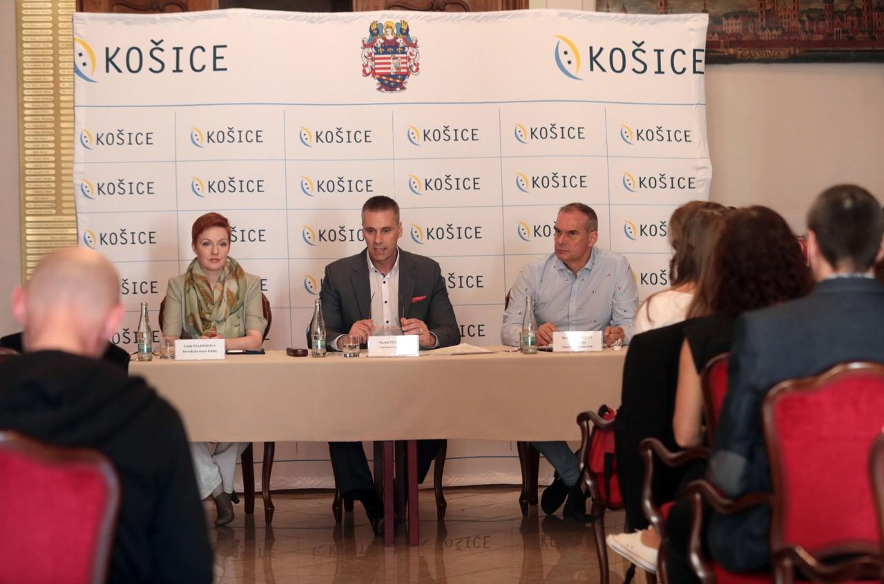 Tlačová konferencia k Oslavám Dňa mesta