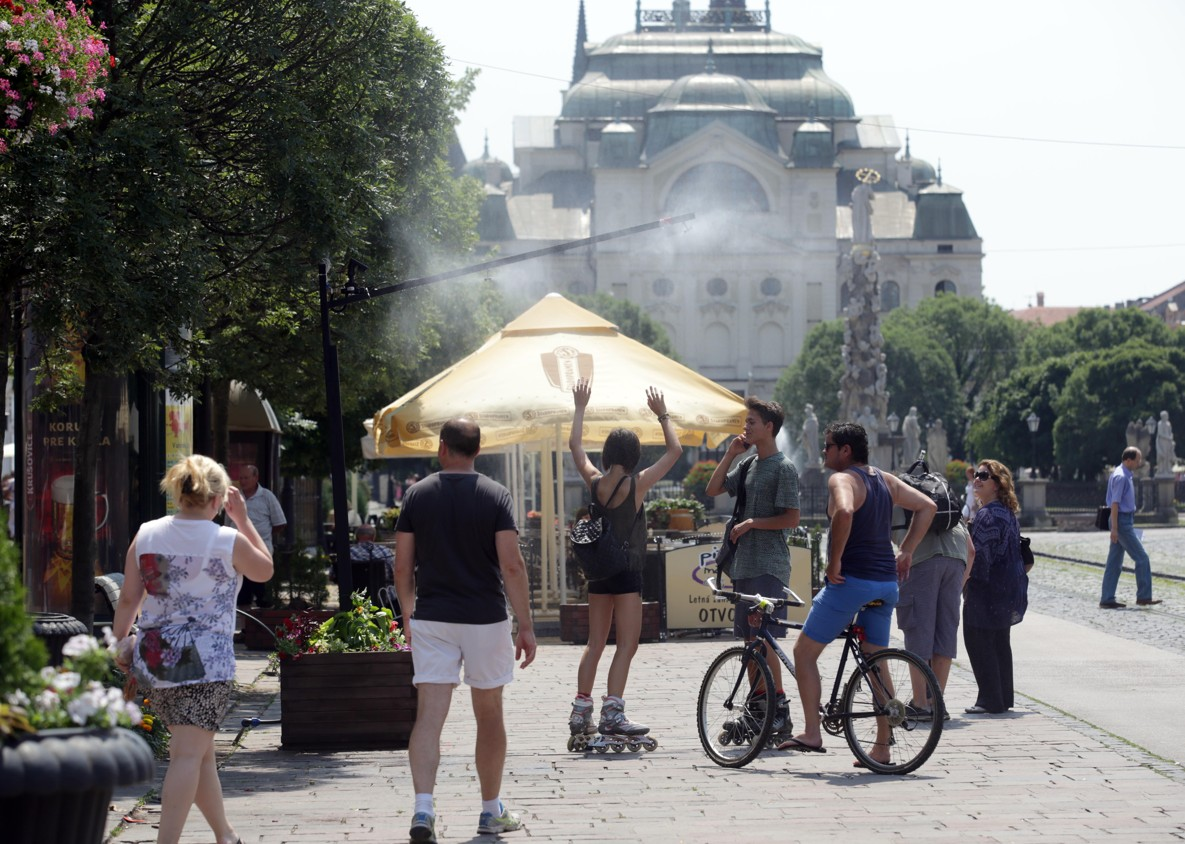 Letná sezóna v Košiciach