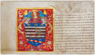 The fourth coat-of-arms charter of Košice