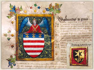 The second coat-of-arms charter of Košice