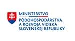 Logo Ministerstva pôdohospodárstva a rozvoja vidieka SR
