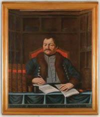 Portrét archivára – senátora mesta F. A. Schwartzenbacha