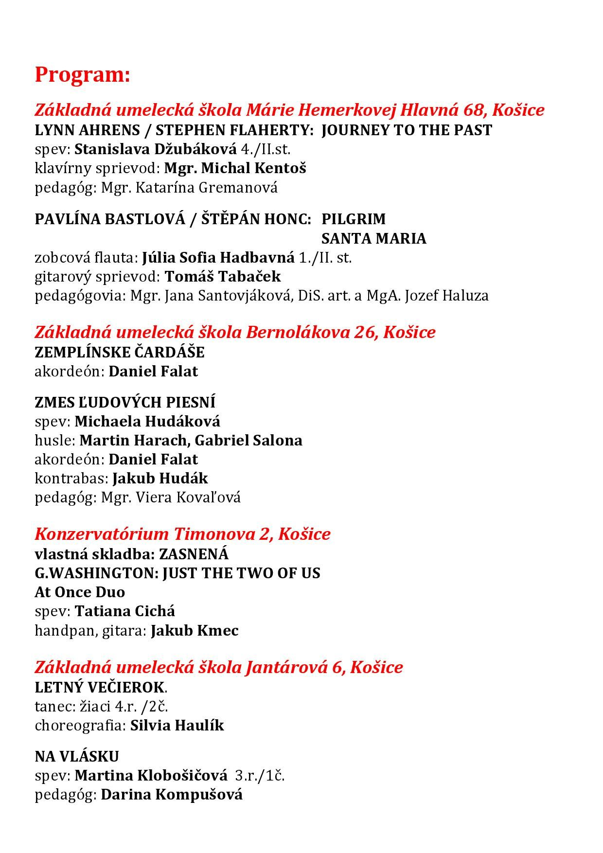 Galakoncert program 2019 02